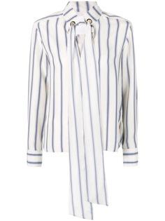 Chloé блузка в полоску