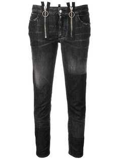 Dsquared2 прямые укороченные джинсы Runway