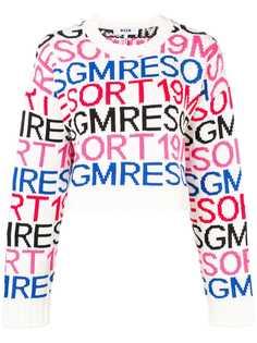 MSGM свитер с логотипом