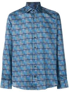Etro рубашка в клетку