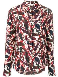 Chloé рубашка с принтом пейсли