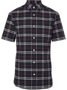 Burberry рубашка с короткими рукавами