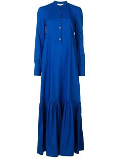 La Doublej длинное платье-рубашка