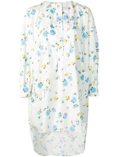 Golden Goose рубашка с цветочным принтом