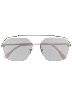Fendi Eyewear солнцезащитные очки-авиаторы