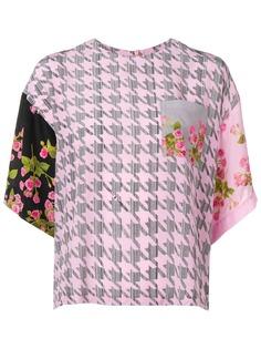 Natasha Zinko блузка с принтом