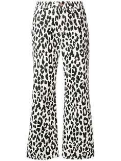 See By Chloé джинсы с леопардовым принтом