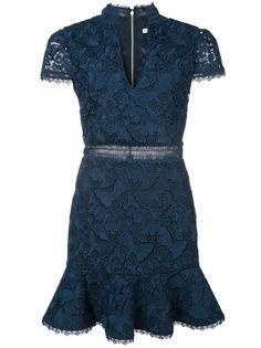 Alice+Olivia кружевное платье мини