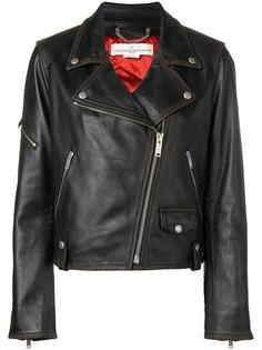 Golden Goose приталенная байкерская куртка