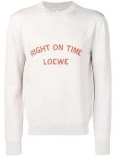 Loewe джемпер Right On Time
