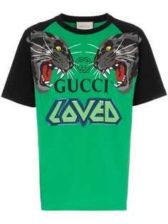 Gucci футболка с принтом