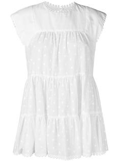 See By Chloé декорированная блузка