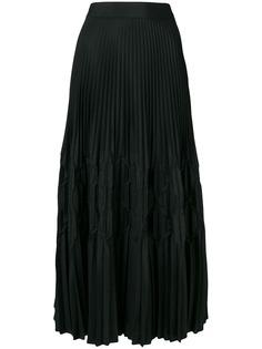 Givenchy длинная плиссированная юбка
