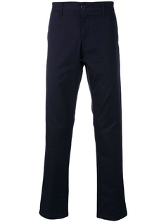 Carhartt WIP брюки узкого кроя