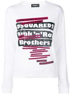 Dsquared2 свитер с принтом Punk n Roll Brothers