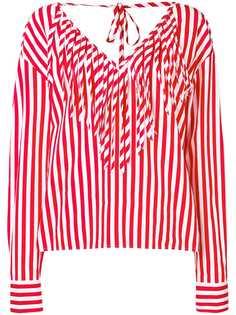 MSGM блузка в полоску