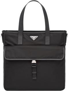 Prada сумка-тоут из кожи Saffiano