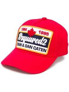 Dsquared2 кепка с заплаткой с логотипом