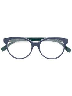Fendi Eyewear очки в круглой оправе