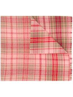 Acne Studios клетчатый шарф в стиле оверсайз Cassiar