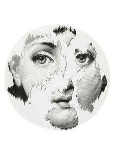 Fornasetti тарелка с принтом лица
