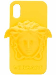 Versace чехол для iPhone X Medusa