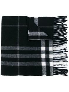 Burberry кашемировый шарф в клетку