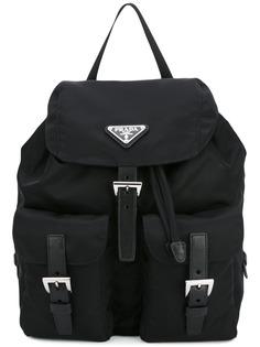 Prada рюкзак с пряжками