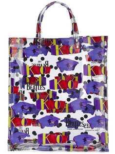 The Beatles X Comme Des Garçons сумка-тоут с рисунком