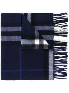 Burberry кашемировый шарф Classic Check