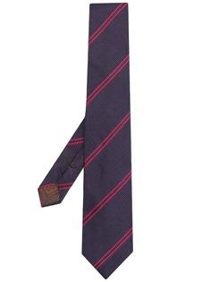 Churchs галстук в диагональную полоску