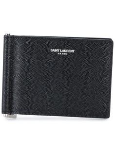 Saint Laurent бумажник с зажимом для купюр