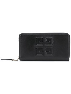 Givenchy logo zip purse