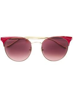 Gucci Eyewear круглые солнцезащитные очки