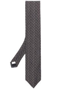 Lardini галстук с цветочным принтом