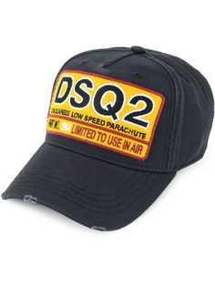 Dsquared2 бейсбольная кепка с заплаткой с логотипом DSQ2