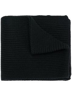 Moncler вязаный шарф в рубчик