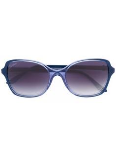 Cartier крупные солнцезащитные очки