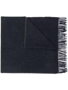Canada Goose трикотажный шарф с бахромой