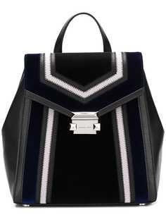 Michael Michael Kors рюкзак Whitney с геометрическим принтом