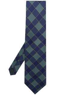 Romeo Gigli Pre-Owned квадратный галстук с принтом