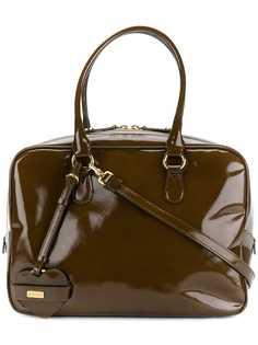 Moschino Pre-Owned структурная сумка-тоут