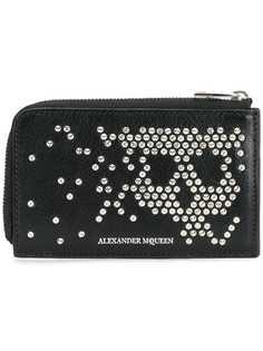 Alexander McQueen кошелек с абстрактным рисунком черепа из заклепок