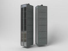 Подвесной кофр органайзер для обуви и бытовых мелочей 120х22х30см Co Fre T