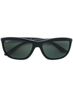 Ray-Ban солнцезащитные очки в квадратной оправе с поляризованными линзами