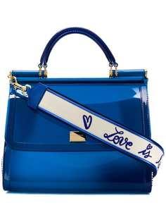 Dolce & Gabbana прозрачная сумка-тоут Sicily