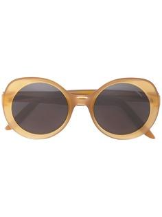 Lapima солнцезащитные очки в круглой оправе