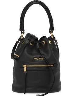 Miu Miu сумка-ведро с верхней ручкой