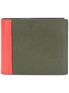 Marni бумажник дизайна колор-блок
