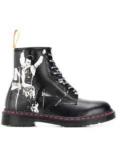 Dr. Martens ботинки из кожи Saffiano